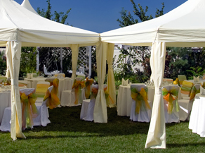 Tents for Weddings, Social Events and corporate events