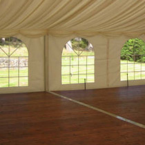 Wood Flooring for rental tents