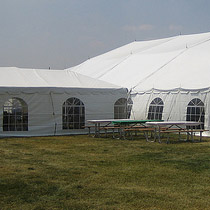 Cathedral Windows Tent - special events rentals