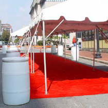 Water Ballast Rent for event Tent