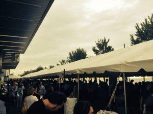Toronto Taste Tent Exterior