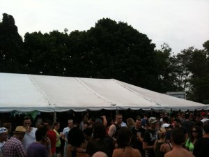 The Beer Tent